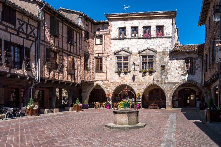Les villages de France les plus romantiques Castelnau-de-Montmirail en Midi-Pyrénées.