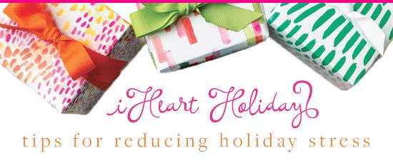 Reduce your #Holiday stress this year! Try these tips to relax a little more. http://www.iheartorganizing.com/2015/12/iheart-tips-for-reducing-holiday-stress.html