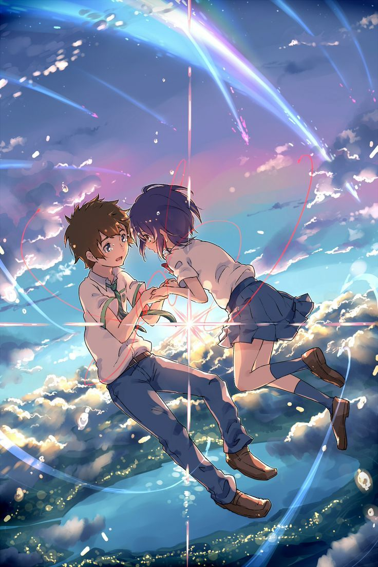 """This anime movie is the CUTEST thing ever!! It's called """"your name """""""
