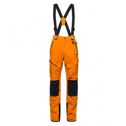 This is not just a ski-mountaineering pant. It's a fully featured pant that enable extreme filmmaker, outdoor lovers, to stand over the worst conditions and to enjoy the fun of a truly hard descent from the top of the mountain. Light-weight insulation and a completely waterproof construction guarantee a successful day.