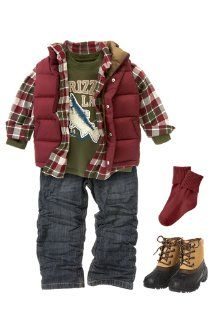 this it really PJ's style, and has his favorite color (red)! Gymboree even carries his size in jeans (5 slim), and thats a huge plus!