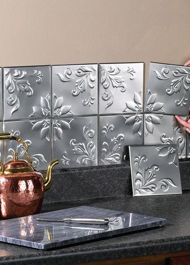 Kitchen Backsplash Tin best 20+ tin tiles ideas on pinterest | cheap wall tiles
