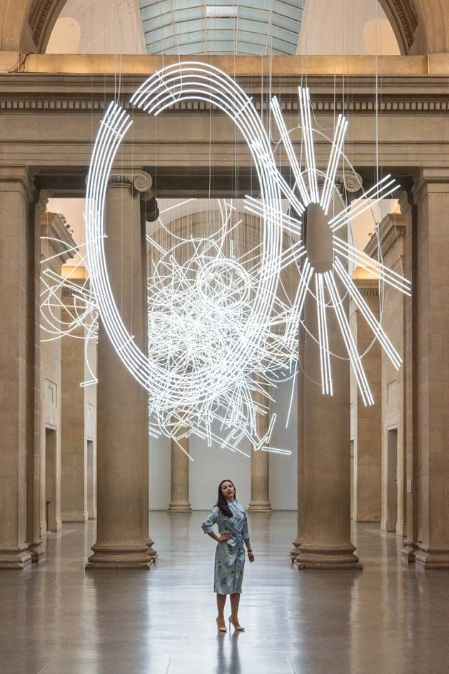 Welsh artist Cerith Wyn Evans is more familiar than most with London's Tate Britain. He strolled its iconic galleries as a guard in the late seventies, while studying at Central St Martins. With a beautiful sense of symmetry, he has returned 40 years l...