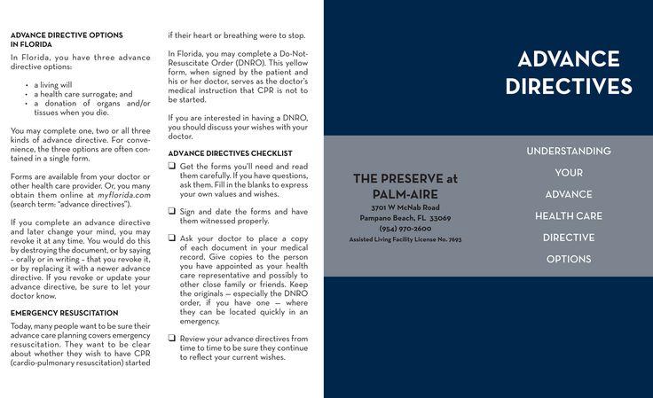Advance Directives Cover  For Seniors Med Log