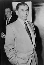 "Meyer Lansky (born Meyer Suchowljansky;[1] July 4, 1902 – January 15, 1983), known as the ""Mob's Accountant,"" was a Russian-born American organized crime figure who, along with his associate Charles ""Lucky"" Luciano, was instrumental in the development of the ""National Crime Syndicate"" in the United States. For decades he was thought to be one of the most powerful people in the country."