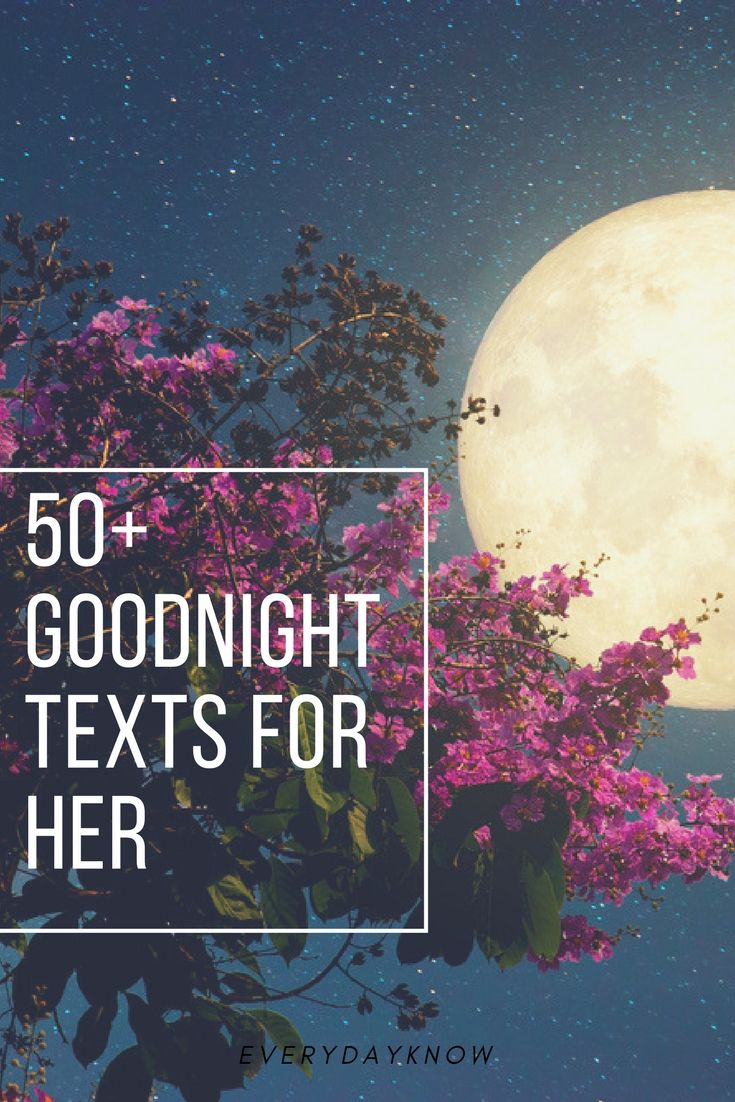 50+ Goodnight Texts For Her