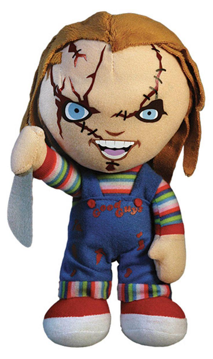 Peluche Chucky 40 cm. Con sonido. Chucky: el Muñeco diabólico. Mezco Toys Estupendo peluche Chucky de 40 cm con sonido, oficial, fabricado en poliéster y con ropa real. El auténtico protagonista del exitoso film Chuck: el Muñeco diabólico.