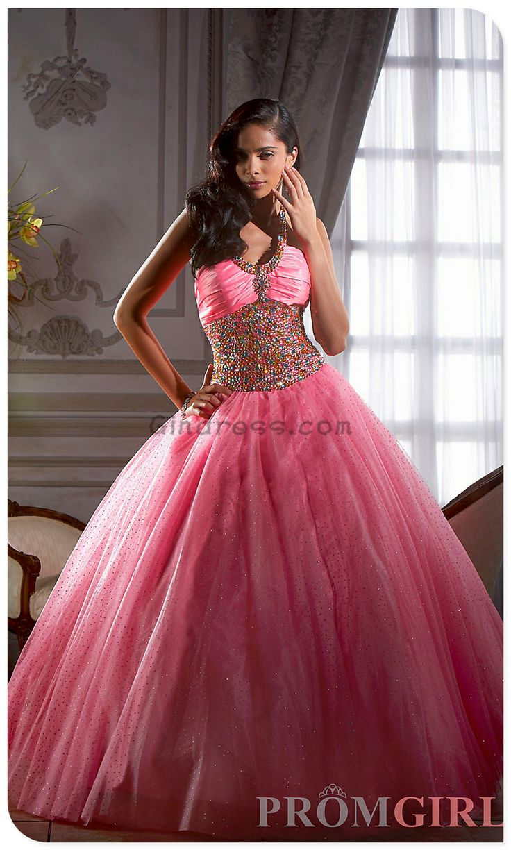 Mejores 20 imágenes de Quinceañera dresses en Pinterest | Vestidos ...