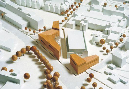 Edificios Institucionales de la Universidad de Kassel,Maqueta
