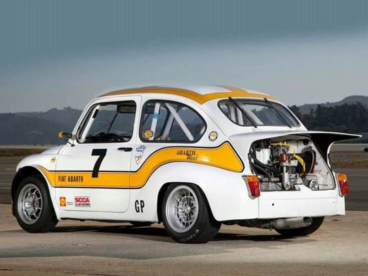 Fiat 600 Abarth 1000...