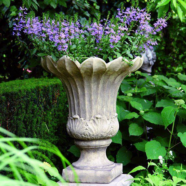 10 best garden urns planters pots images on pinterest garden stone fluted vase workwithnaturefo