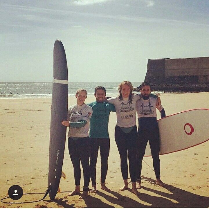 Today on our blog you van read about our experience #surfing with our #friends from #LisbonSurfConnection. There's a fun video too ;) #seabookings #surf #surfinlisbon #surfingportugal