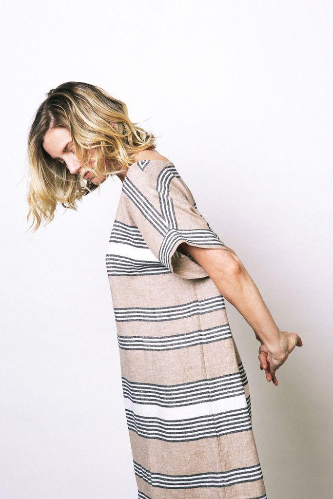 Bold Stripe Georgia Dress