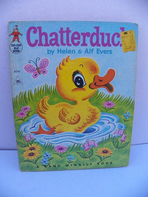 Tip Top Elf Book 8576  Chatterduck  1967 First Edition Rand
