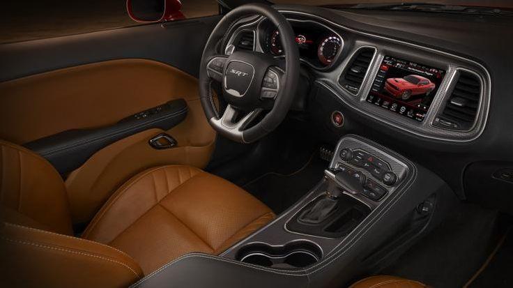 2015 Dodge Challenger Hellcat interior