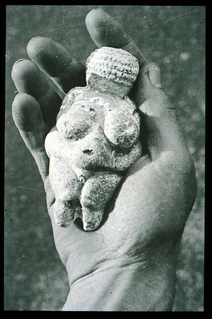 Venus of Willendorf, 24,000 - 22,000 BC