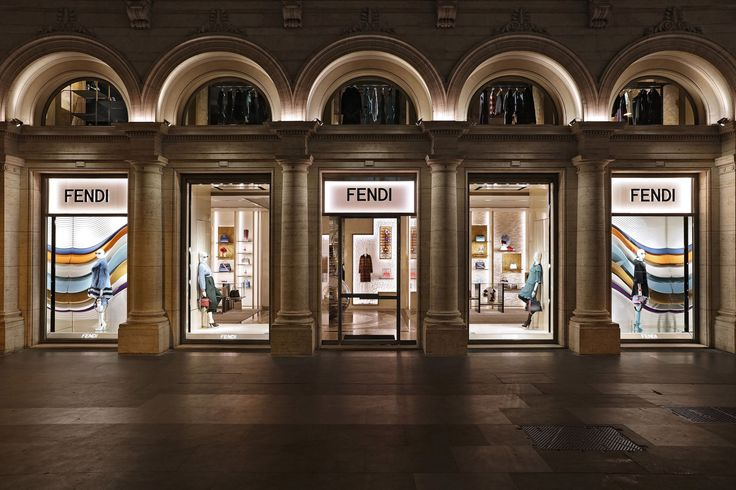 1000+ images about Fendi Boutiques on Pinterest | Beijing, Saks fifth avenue and Rome