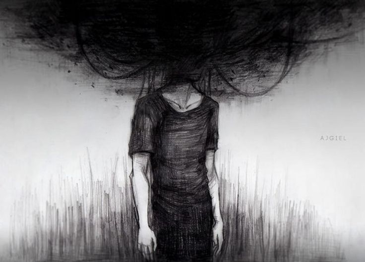 To define depression it takes more than simple words. Artists' images tell stories of despair, loneliness, and horror, painting a picture of the hard truth. It is with me every day, and you know wh…