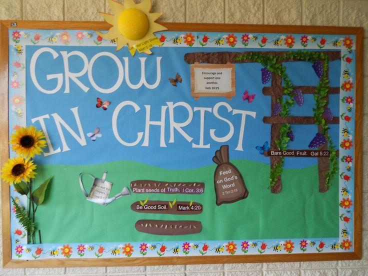 Fall Sunday School Bulletin Boards | bulletin board as well as the nativity themed bulletin board