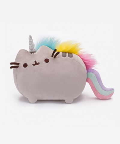 I'm not into plush toys.... but I'm into this! Pusheenicorn plush toy - Hey Chickadee