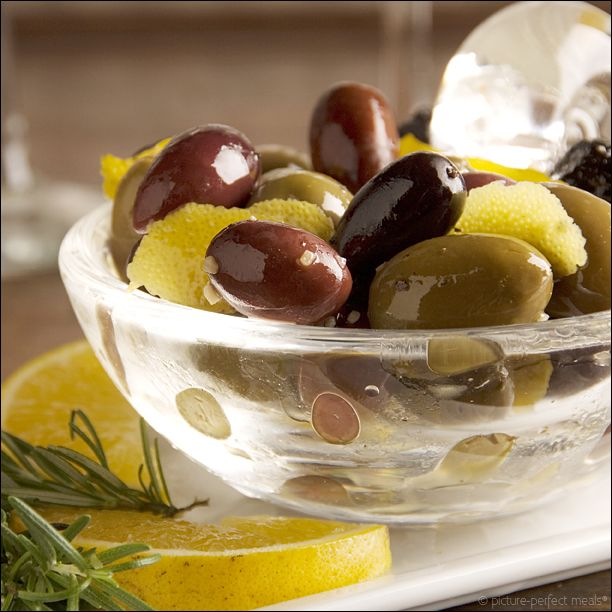-marinated-olives- 2 001sq | Pickles | Pinterest | Marinated Olives ...