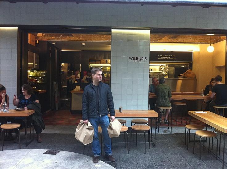 Wilbur's Place laneway restaurant near Kings Cross, Sydney.