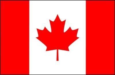 De vlag van Canada.
