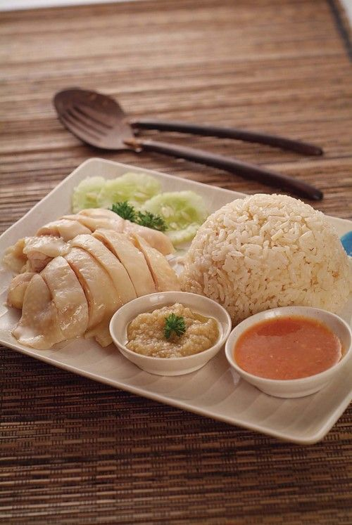 Asian food - Hainanese Chicken Rice