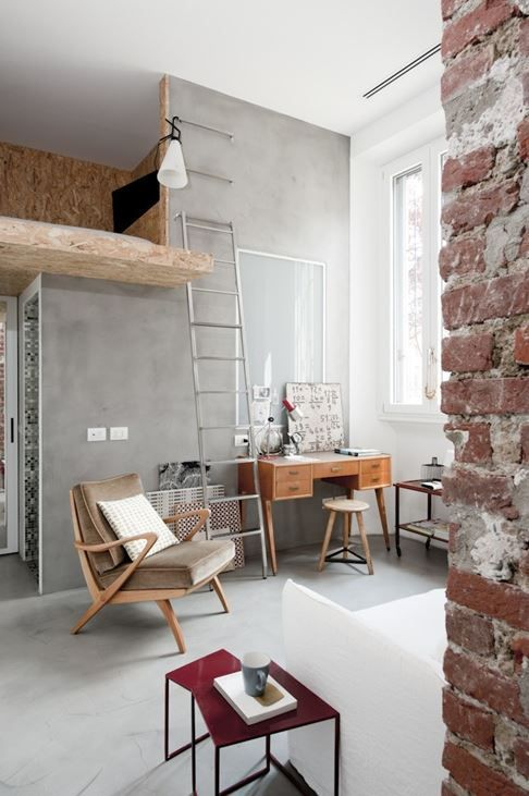 Un mini loft à Milan | PLANETE DECO a homes world