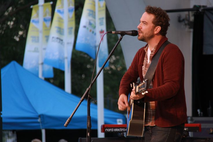 Justin Rutledge performed on August 13, 2014 at Peterborough Musicfest.