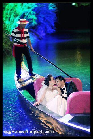Carmina Villaroel Zoren Legaspi Wedding - Riding A Boat. #Wedding