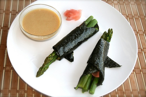 Asparagus with Miso Dipping Sauce | Japanese Recipes | Pinterest