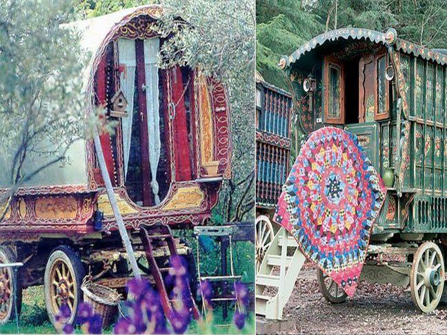 I want my very own Gypsy Caravan, please.