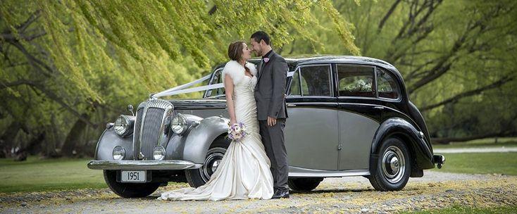 Daimler Consort for a wedding in Queenstown, New Zealand