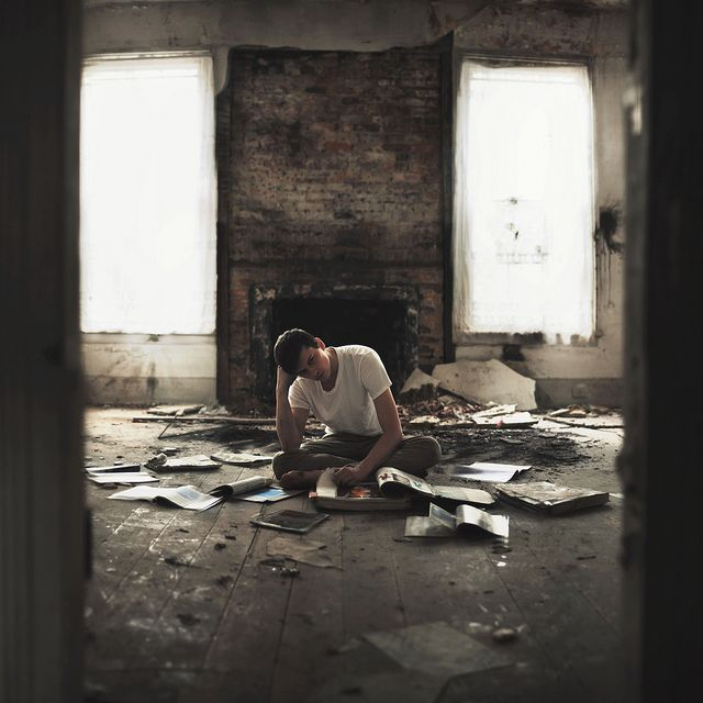 I wince as burned pages crunch under my feet. All these ruined books; ruined stories. Bella would have cried. Bella probably did cry, I just wasn't there to see it.