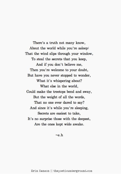 Secrets. thepoeticunderground.com #poem #poetry