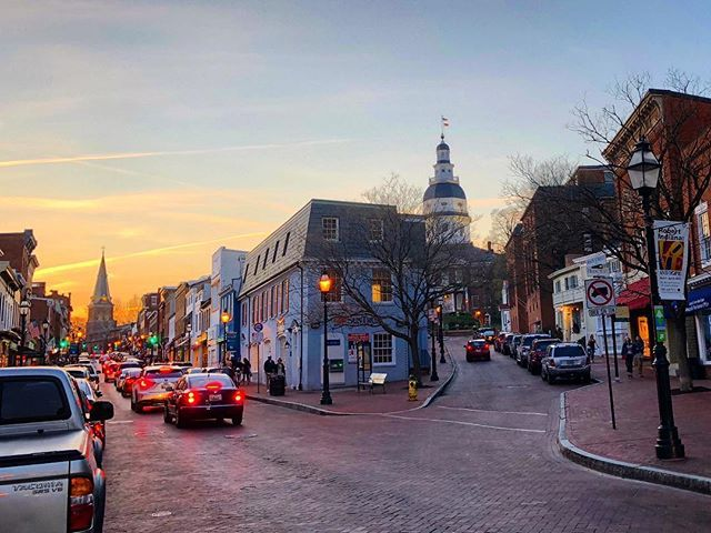 Historic Downtown Annapolis Marylands Capital City