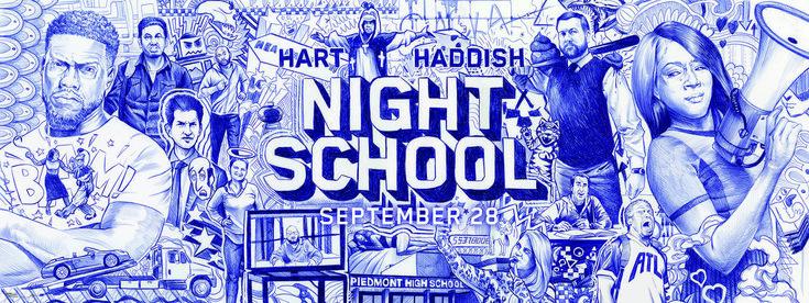 Kevin Hart und Tiffany Haddish ins in der Komödie Night School, die mit diesem schönen Banner besticht. – moviepilot