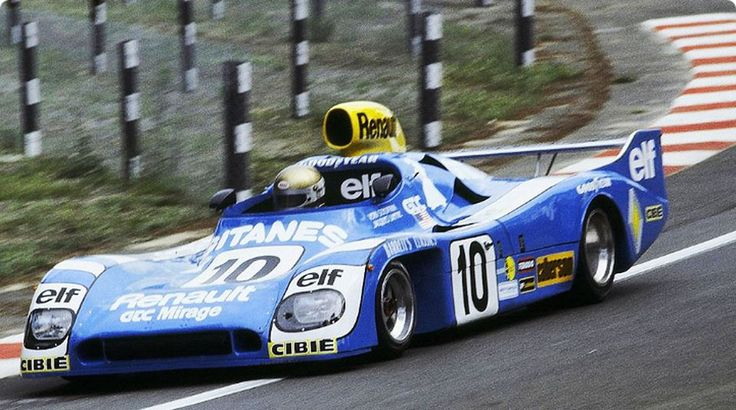 1977 .. Le mans , entered by Grand Touring cars Inc.  Mirage GR8 , driven by  Schuppan / J-P Jarier , finished 2nd o/a .