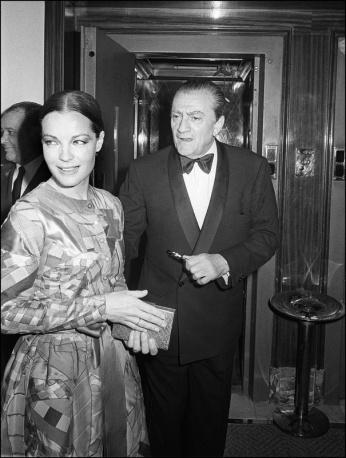 Vintage Croisette: Luchino Visconti e Romy Schneider