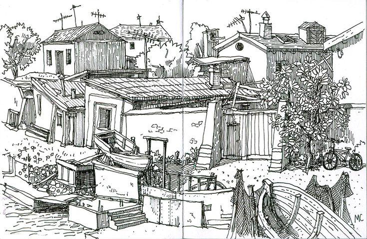 Меркулов Сергей, графика, рисунок