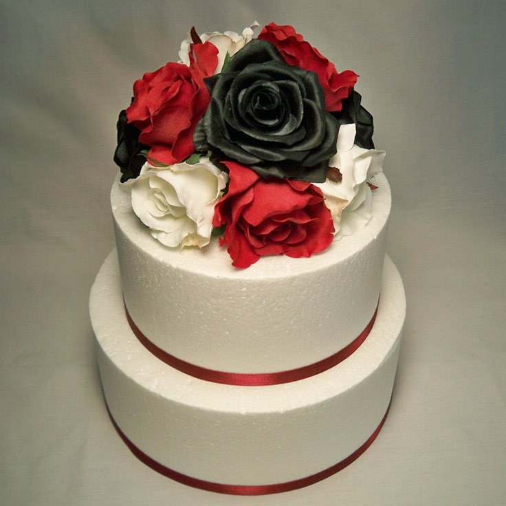 red and white wedding cake toppers black white and wedding cake topper wedding 19106
