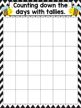 Morning Meeting Jobs- Bee Decor This resource is a great bulletin board display for morning meeting jobs. It will coordinate perfectly with a bumble bee theme. Put these jobs next to your calendar and your students can keep track of the weather, seasons, days of the week and keep track of the school days with tallies and money.