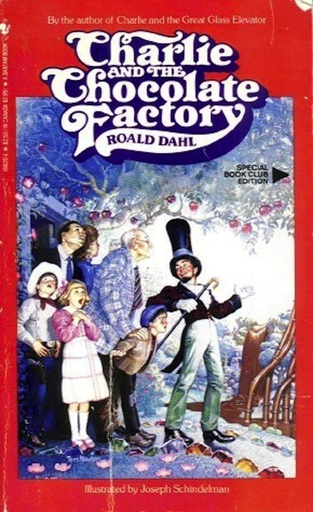 Charlie And The Chocolate Factory Book Club Edition
