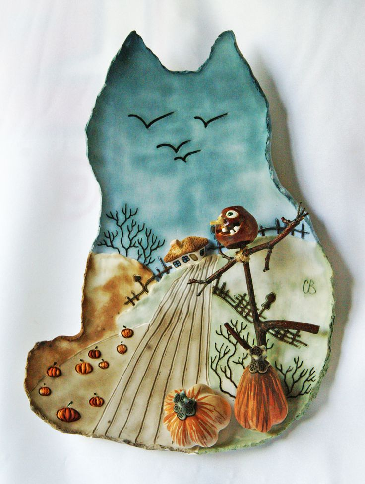 автор : Светлана Виноградская; настенная картина; материал: керамика (фаянс);