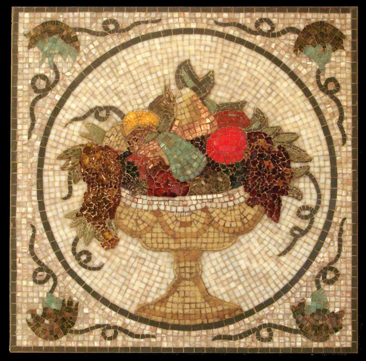 3D Mosaic. Fruit Basket  by Mohamed S Awad