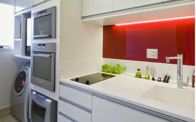Decor Salteado - Blog de Decoração   Arquitetura   Construção   Paisagismo: Cozinha corredor – veja lindos modelos para apartamentos + dicas de decoração!