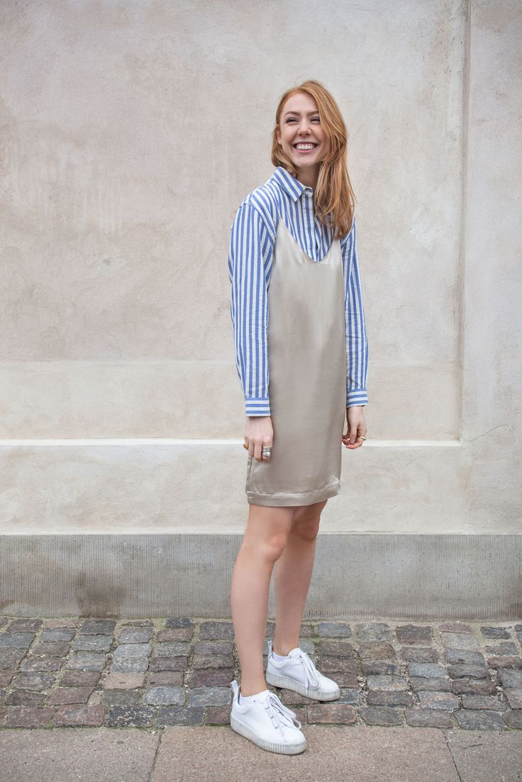 """""""I am so lucky that I live right in the heart of Copenhagen. I can walk to The Little Mermaid, Nyhavn and the Queen's residence. My favorite photo wall is this creamy beige wonder! It's just a few steps away from my apartment and I shoot there maybe more than I should!"""""""