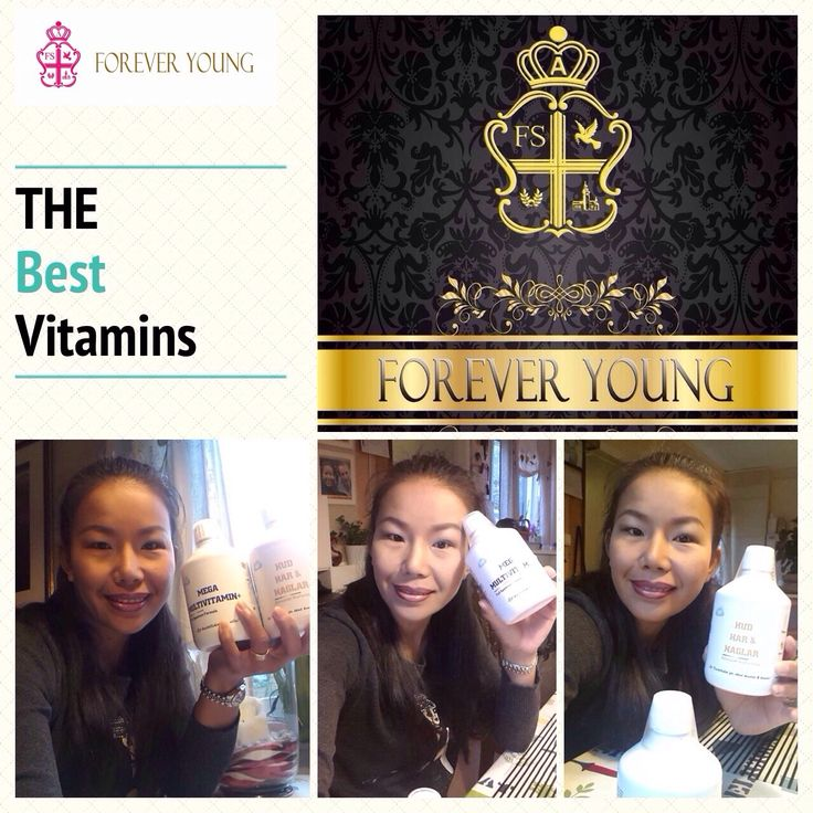 Forever Young vitamins