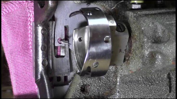 Швейная машина 1022 класса. Как выставить челнок по отношению к игле. Ви...